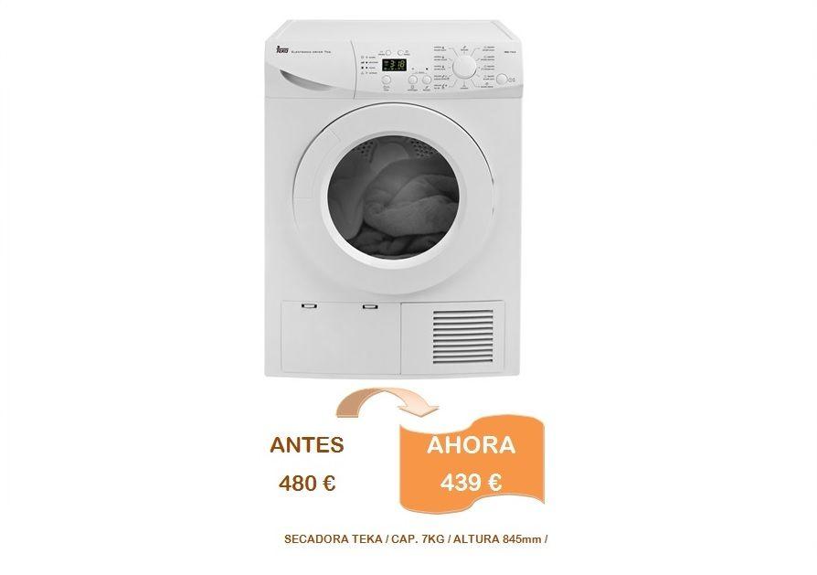 Secadora teka 8kg blanca, en decoración bravo, Valdemorillo, Madrid